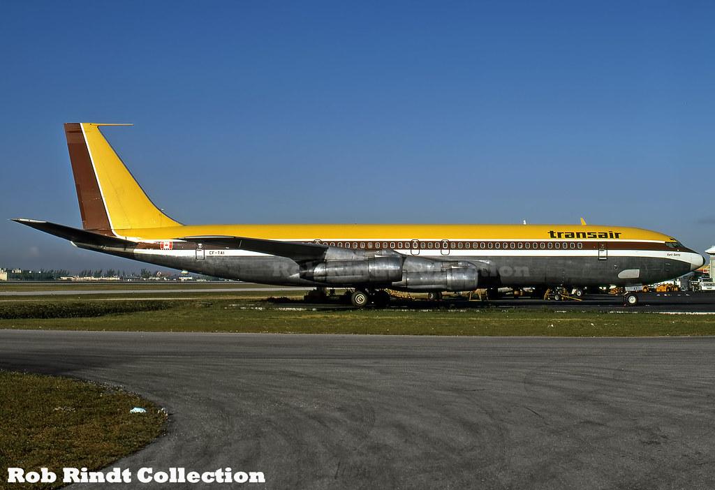 Transair Canada B707-348C CF-TAI