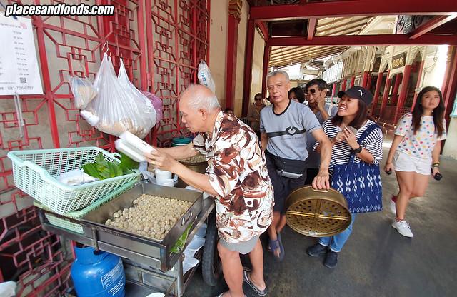 Bangkok Chinatown  Khanom Jib Pae Sia