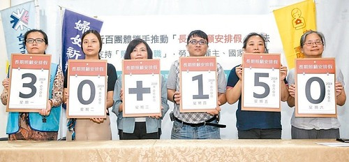圖1.民團提案180天長照假 民眾冷感一周不到50人附議(照片來源:聯合新聞網)