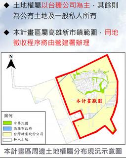 計畫區周邊土地全屬分布現況示意圖