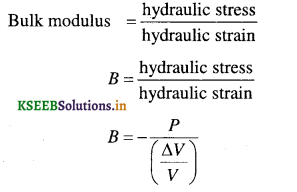 1st PUC Physics Question Bank Chapter 9 Mechanical Properties of Solids - 10
