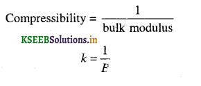 1st PUC Physics Question Bank Chapter 9 Mechanical Properties of Solids - 11