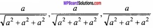 MP Board Class 12th Maths Important Questions Chapter 11 त्रि-विमीय ज्यामिति img 47