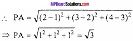 MP Board Class 12th Maths Important Questions Chapter 11 त्रि-विमीय ज्यामिति img 26
