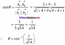 MP Board Class 12th Maths Important Questions Chapter 11 त्रि-विमीय ज्यामिति img 8