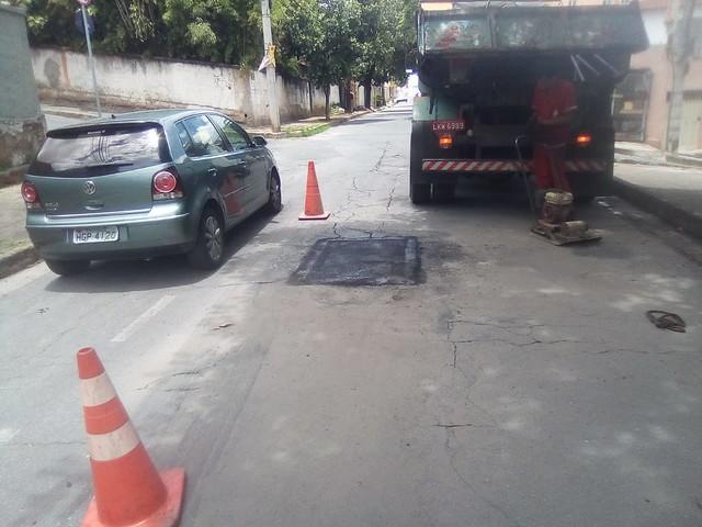 12/02/2020. Operação Tapa Buraco. Fotos: Divulgação/PBH