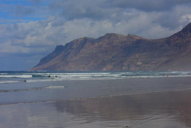 Famara beach, Lanzarote, Islas Canarias, Spain, Nikon_D810, January_2020_942