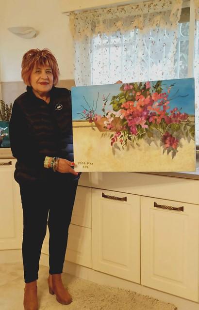 פרידה פירו Frida piro ציירת ישראלית אמנית מודרנית עכשווית ריאליסטית ירושלמית ציירות אמניות
