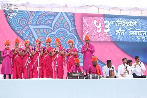 Marathi Geet by Pooja Ji, Jidnisha Ji & Saathi, Kalwa, MH