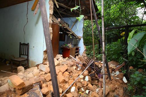 Visita técnica para averiguar a afetação do local diante da situação de emergência no Bairro Beija Flor - Comissão de Meio Ambiente e Política Urbana