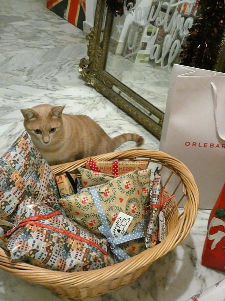 cadeaux de chat !