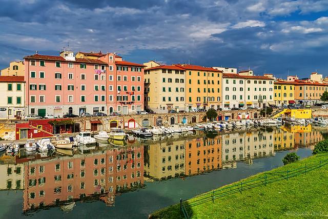 Livorno e i Fossi di Modigliani  - Livorno and the Fossi di Modigliani