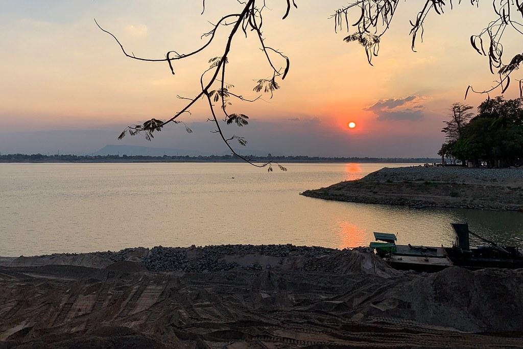 Pakse - Laos - Mekong Sunset