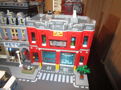 Fire Station (Lego-uary Day #12a)
