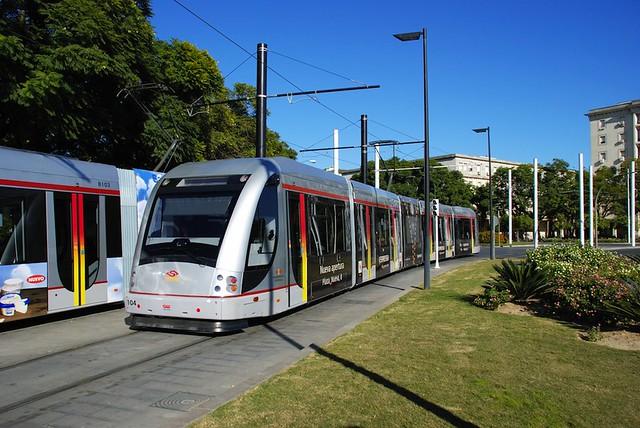 Tranvía-Sevilla