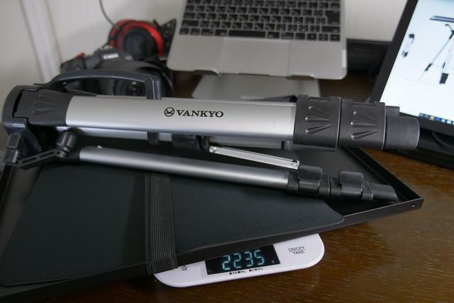 VANKYO プロジェクター台 ノートパソコンスタンド 業務用 三脚式 折りたたみ式プロジェクタースタンド 44-116㎝まで高さ調節可能 オフィス/会議室/ホームシアターに対応 耐荷重15㎏ (ホワイト)