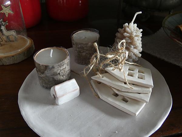 assiette de Noël