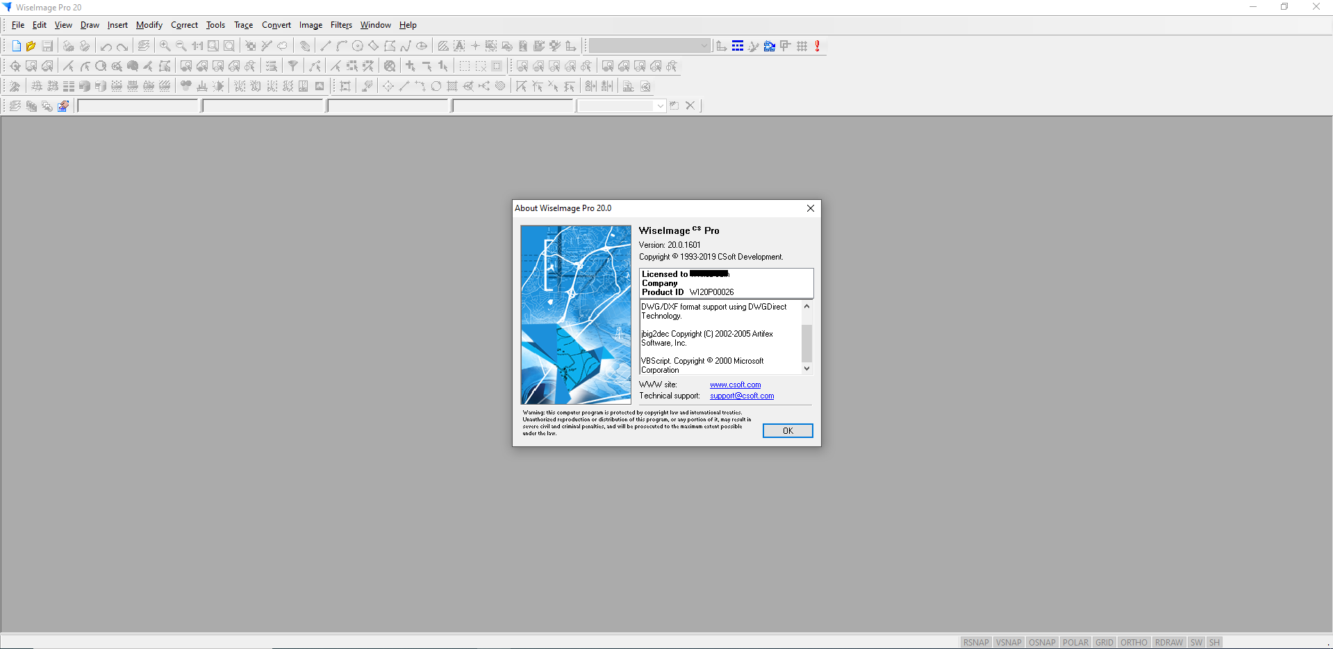 Working with CSoft WiseImage Pro 20 full license