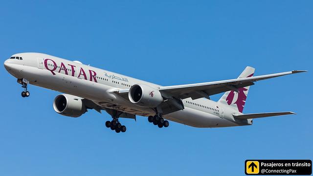 Boeing B777 Qatar A7-BEQ