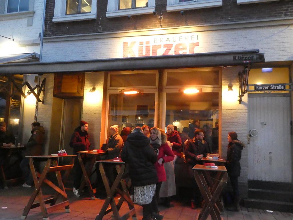 Kurzer Brewery, Altstad, Dusseldorf