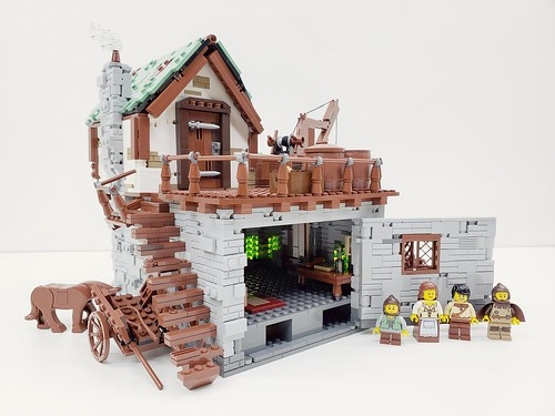 Medieval Dock House-LEGO Ideas Project