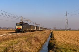 DBCI E.189.987 presso Villetta Malagnino ( Cr )