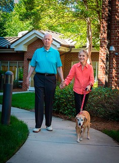 pet friendly living for seniors Charlotte NC