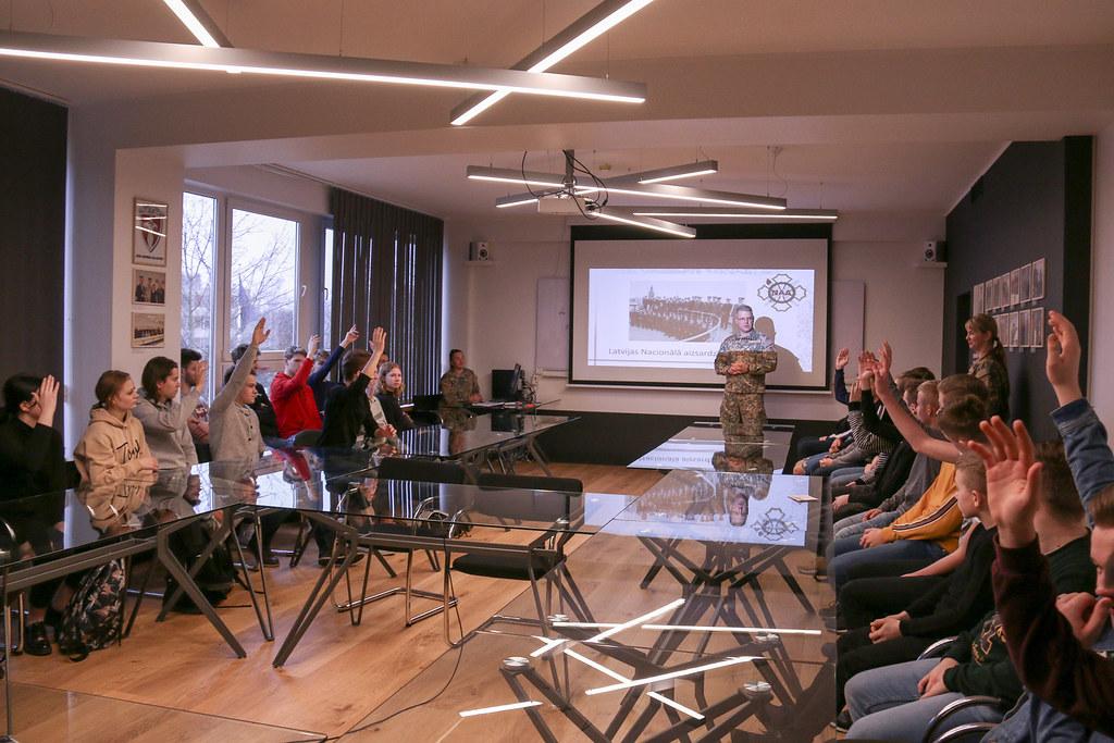 Ēnu diena Latvijas Nacionālajā aizsardzības akadēmijā