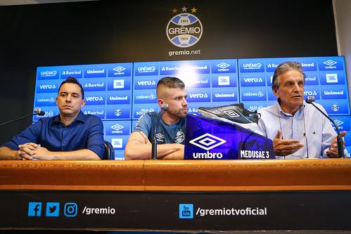 Apresentação Caio Henrique no Grêmio