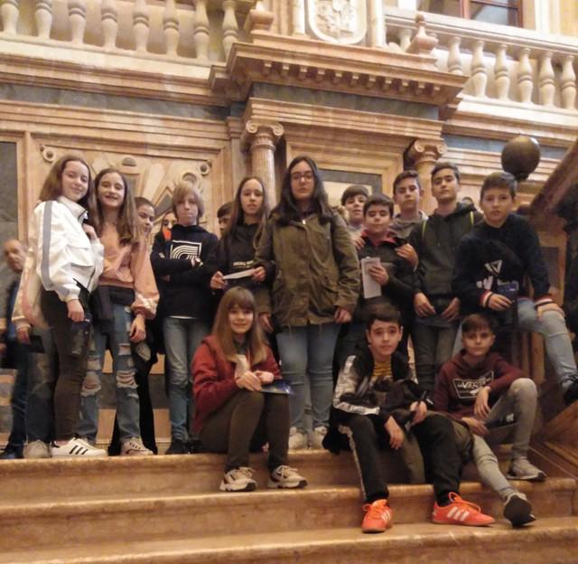 Visita de los alumnos 1º a 4º ESO. Teatro