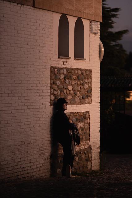 Posing At Sunset