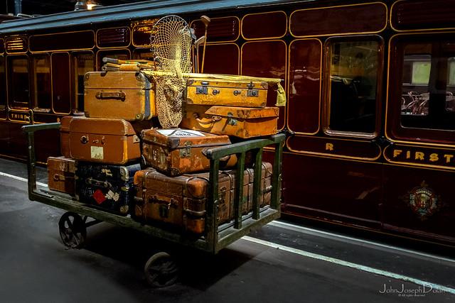 suitcases   national railway museum   york