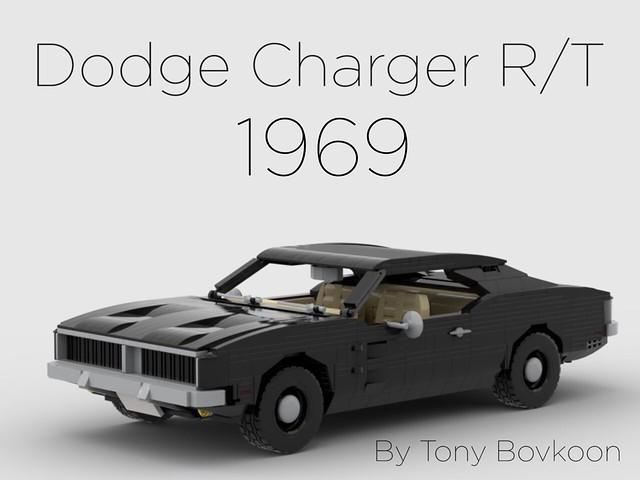 Instruction available on Rebrickable  https://rebrickable.com/mocs/MOC-35555/TonyBovkoon/dodge-charger-rt-1969/#comments