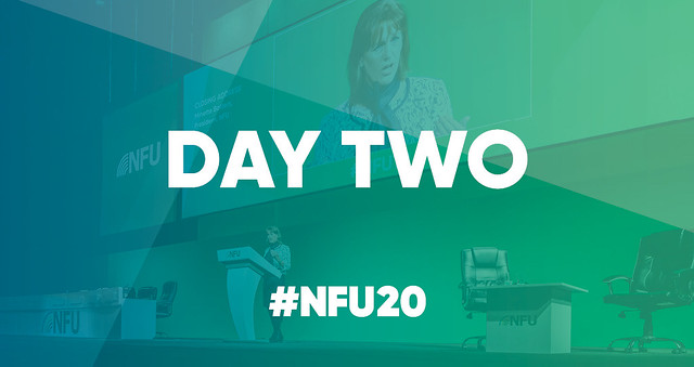 NFU20 - NFU Conference day two in pictures