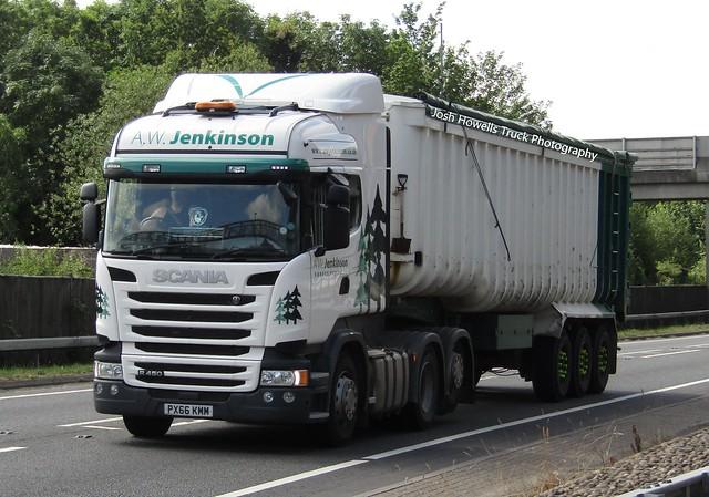 A W Jenkinson PX66 KMM At Welshpool