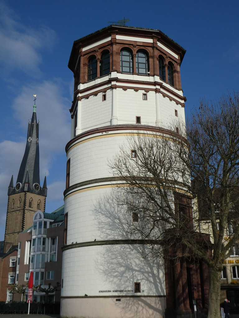 Schlossturm in Burgplatz, the meeting place for Altbier Safari