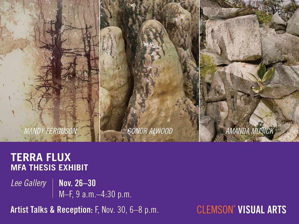 """2018 Fall MFA Exhibit - Terra Flux """"out of the Park"""" Event"""