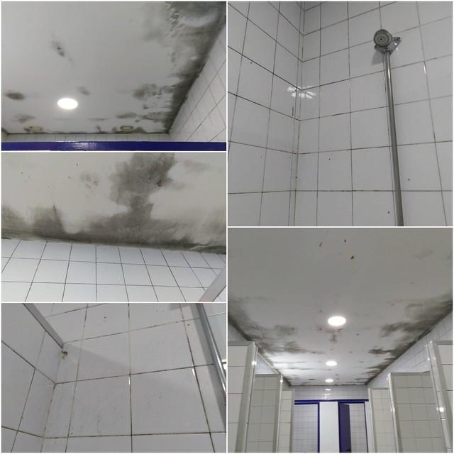 Falta de mantenimiento IMD Instalaciones Centro Deportivo San Pablo