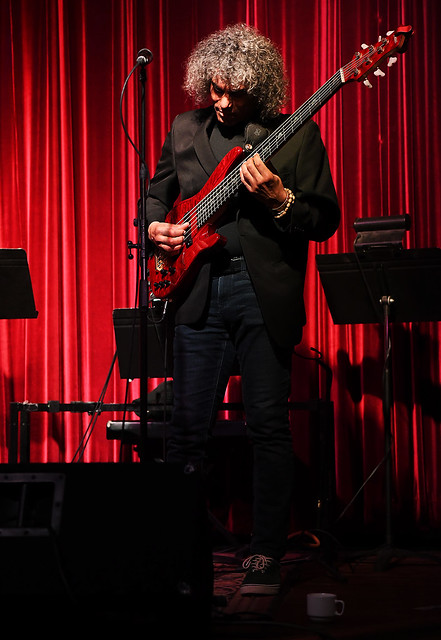 Six String Bass Player