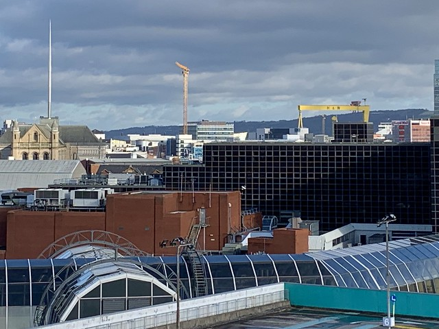Belfast from Tannery Car Park