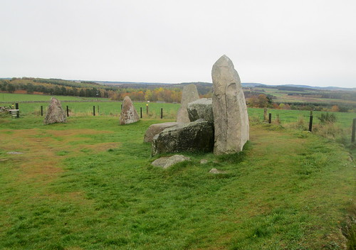 Larger Stones Aquhorthies Stone Circle