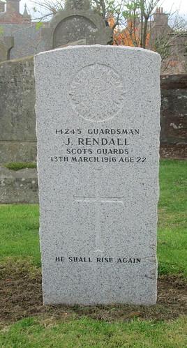 War Grave, Fettercairn