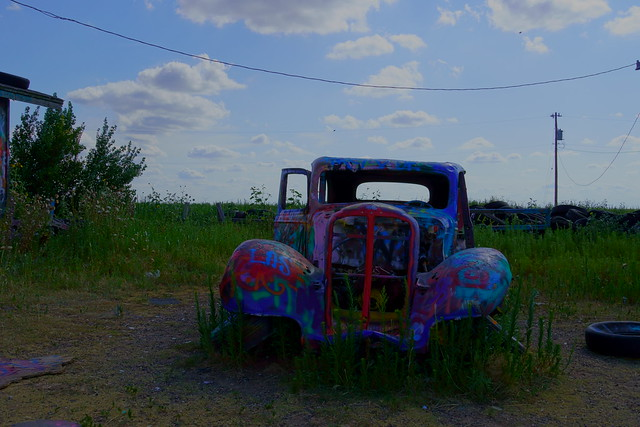 Route 66 CONWAY TEXAS VW RANCH BUG RANCH