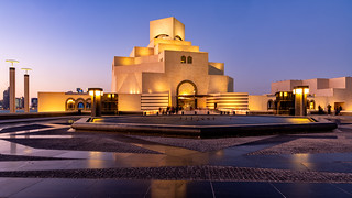 Museum twilight Doha | by singingsnapper