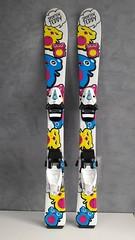 Dětské lyže SPORTEN 90 cm - titulní fotka