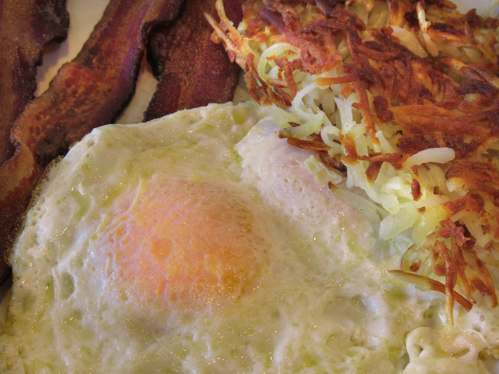 Baccon Eggs and Hashbrowns