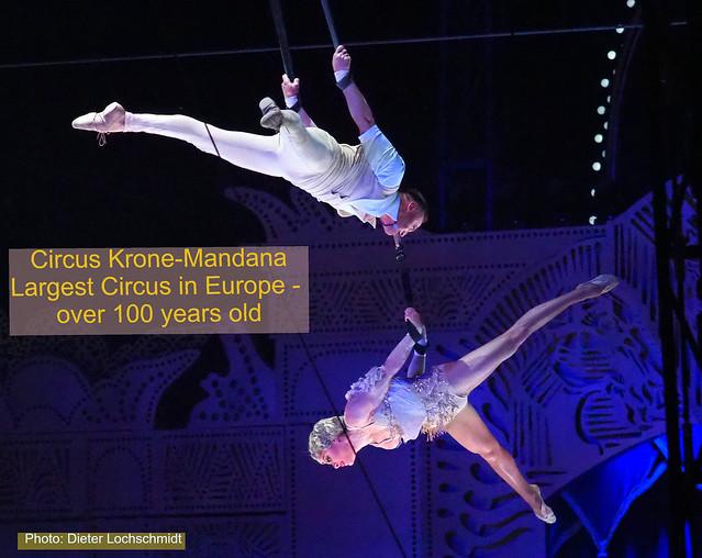 Circus Krone Mandana in Frankfurt, Germany - 2018