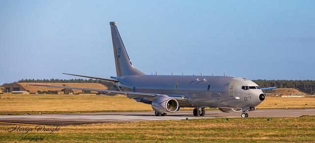 RAF P8 Poseidon