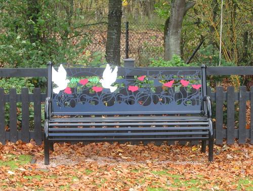 Marykirk War Memorial  Bench