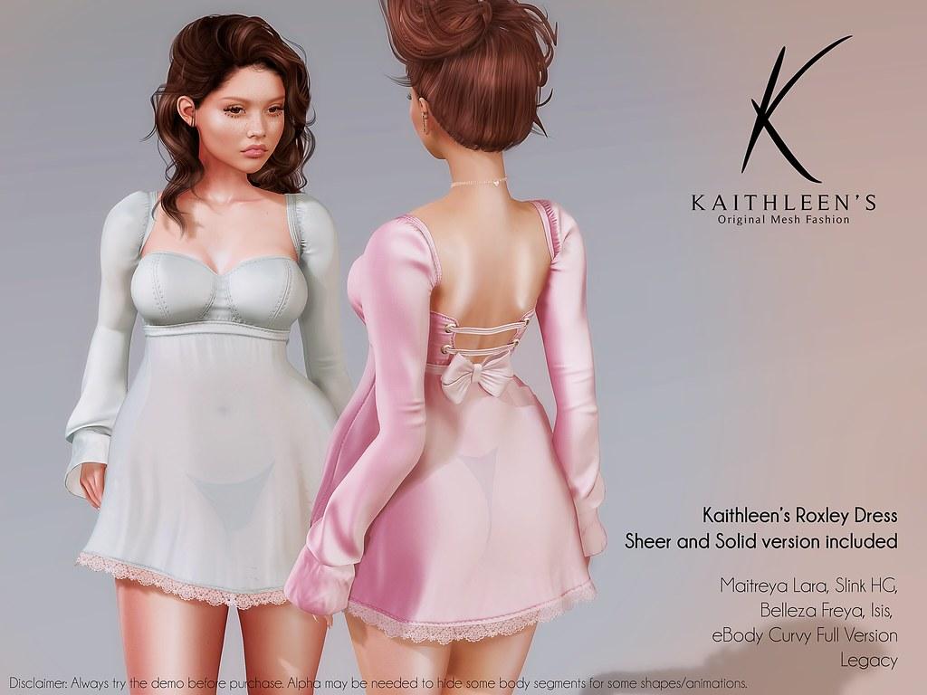 Kaithleen's Roxley Dress Poster web